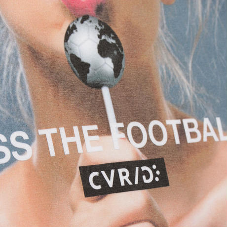 CVRIG KISS THE FOOTBALL TEE WHITE