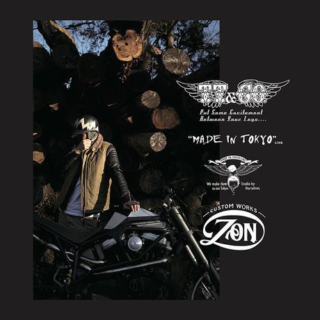 "TT&CO. MADE IN TOKYOLINE ""CUSTOM WORKS ZON ""LIMITED MODEL [Black] TT&CO. &ZONコラボヘルメット(ブラック)"