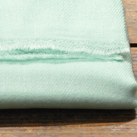 100%カシミア新色(ミントグリーン ) 大判ストール(200cm×60cm)