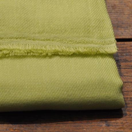 100%カシミア新色(グラスグリーン ) 大判ストール(200cm×60cm)