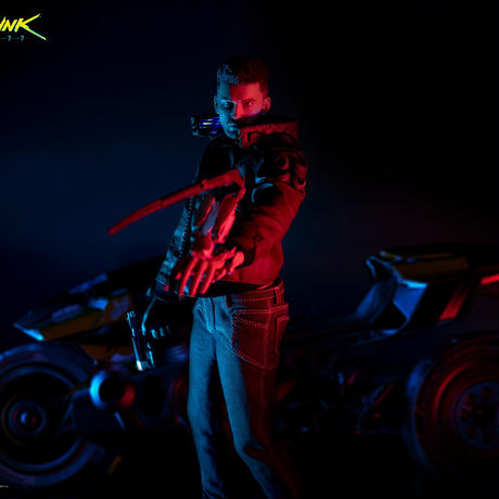 【予約販売】サイバーパンク2077 V(ヴィ―)male 1/6アクションフィギュア バイク「Yaiba Kusanagi」同梱版