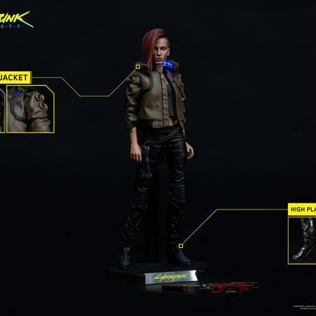 【予約販売】サイバーパンク2077  V(ヴィ―)female  1/6アクションフィギュア