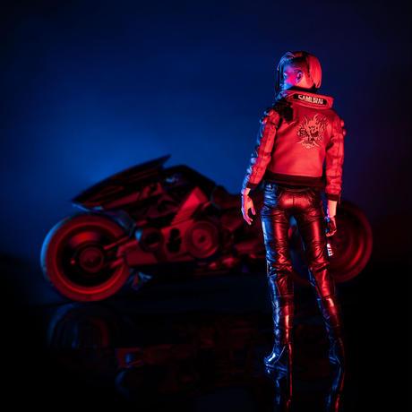 【予約販売】サイバーパンク2077 V(ヴィ―)female 1/6アクションフィギュア バイク「Yaiba Kusanagi」同梱版