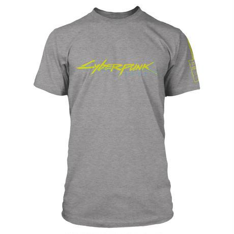 Cyberpunk 2077 ロゴTシャツ(GY)