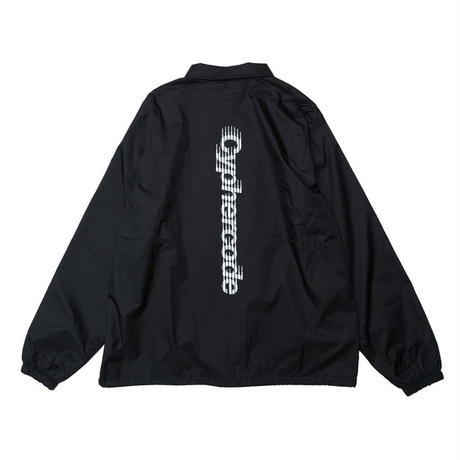 SHADOW LOGO COACH JACKET BLACK