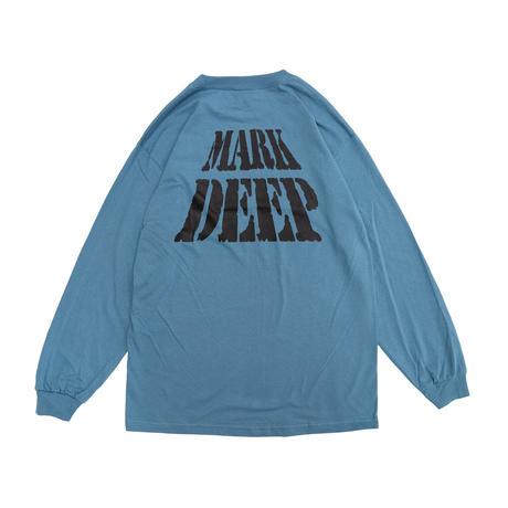 MARK DEEP L/S TEE BLUE