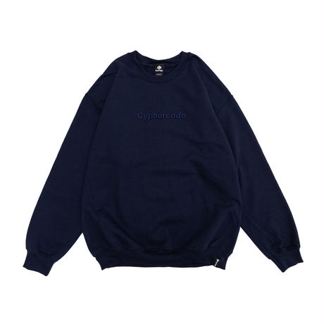 3D LOGO SWEAT TEE  NAVY