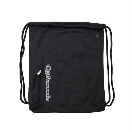 SHADOW LOGO KNAPSACK  BLACK