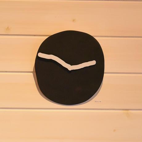 SHOKKI WALL CLOCK/sp20-wc black