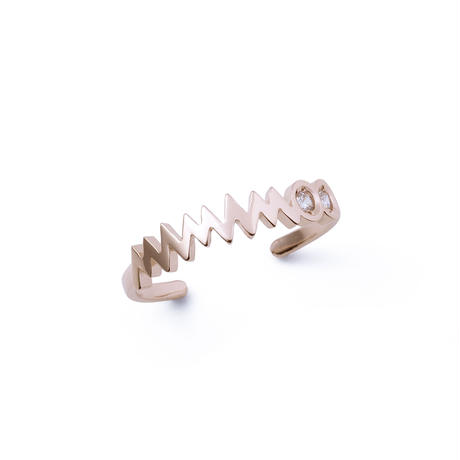 【Limited】MAMAMOO Rose gold Cubic Stone BOX