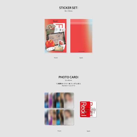 【オンラインサイン会】WheeIn ミニアルバム  Redd 予約販売