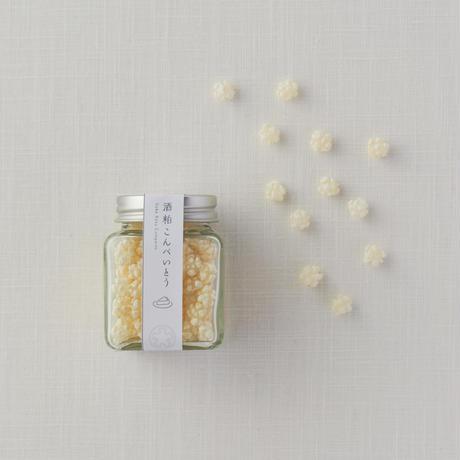 HANARE のお茶菓子セット〈酒粕かりんとう・酒粕こんぺいとう・檸檬煎茶〉