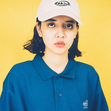 dabbot silhouette polo- shirt (navy)