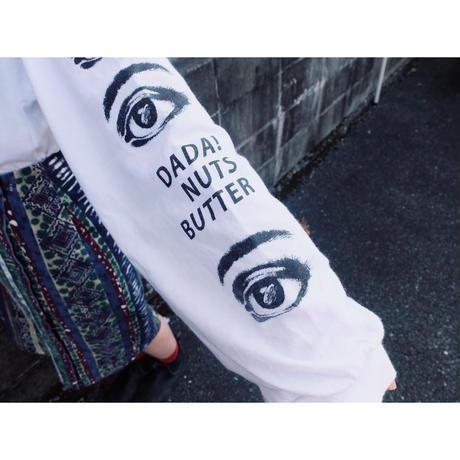 Almond eyes  long-sleeve shirt