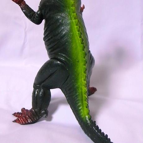 メーカー不明 双頭恐竜 ゴム製 昭和駄玩具
