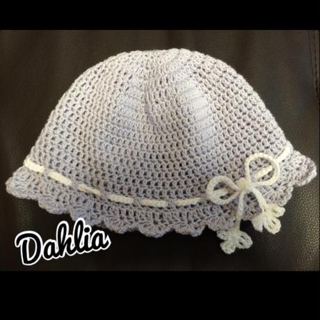 ベビー ヒラヒラツバ付き帽子 Mサイズ