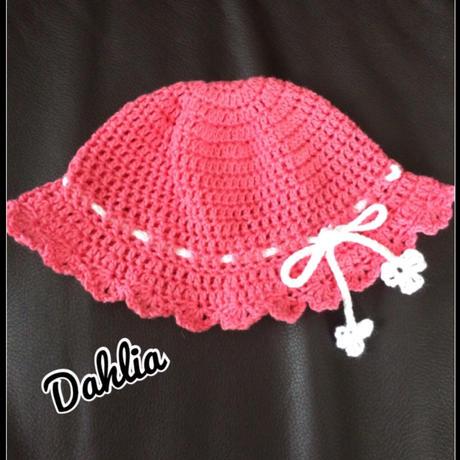 大ヒラツバ付き帽子Sサイズ