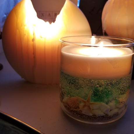Sea series ~shell soycandle M~