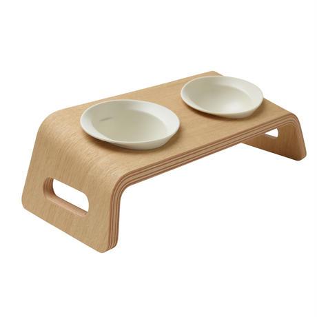 KARIMOKU CAT TABLE(ホワイト&ピュアオーク / ホワイト&シアーホワイト / ブルー&モカブラウン)