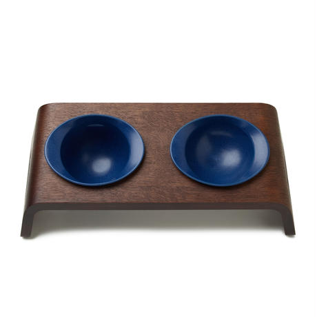 KARIMOKU CAT TABLE  ブルー&モカブラウン