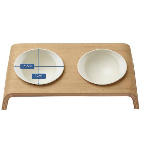 KARIMOKU CAT TABLE ホワイト&シアーホワイト