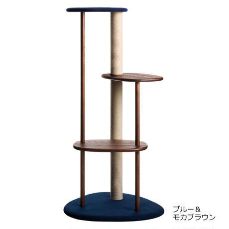 KARIMOKU CAT TREE(ライトグレー&ピュアオーク / ホワイト&シアーホワイト / ブルー&モカブラウン)