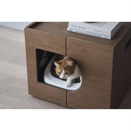 KARIMOKU CAT RESTROOM  ウォールナットナチュラル