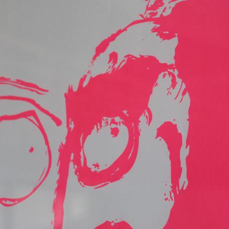 Untitled Daruma, 2020 / Fluorescent pink