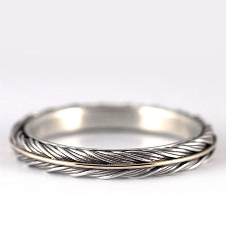 15st BRAID FEATHER RING 0.4