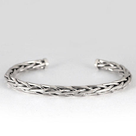 8st BRAID PRESS BANGLE 1.5