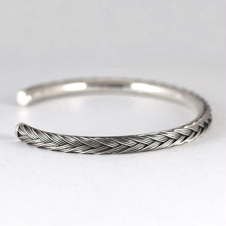 20st BRAID  BANGLE 0.4