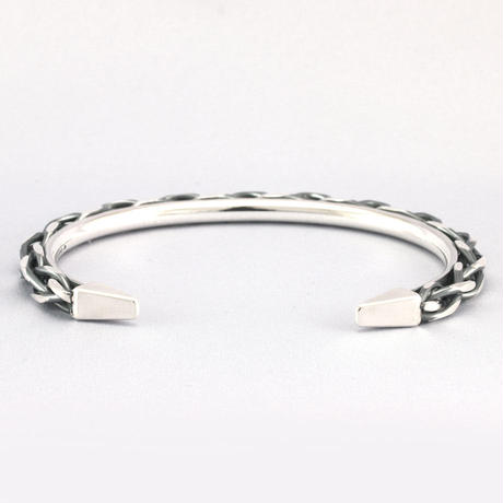 4st BRAID FILING BANGLE 1.5