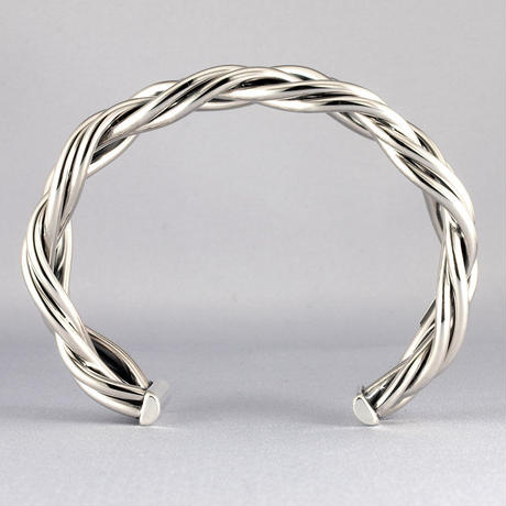6st BRAID BANGLE 2.5