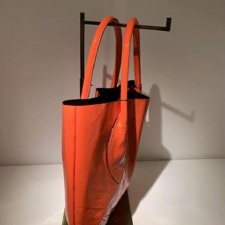 エナメルトートバッグ(Orange)