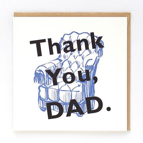 ギフトカード_THANK YOU DAD 2011