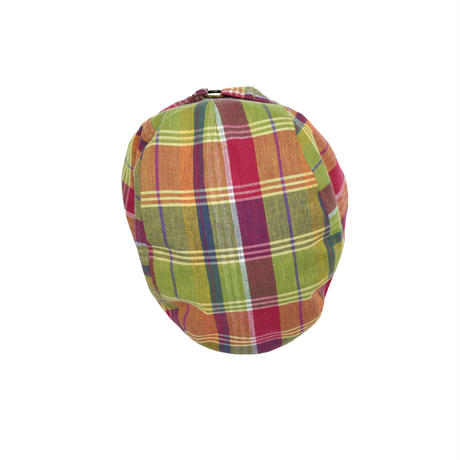 "USED ""SAN DIEGO HAT"" PLAID HUNTING CAP"