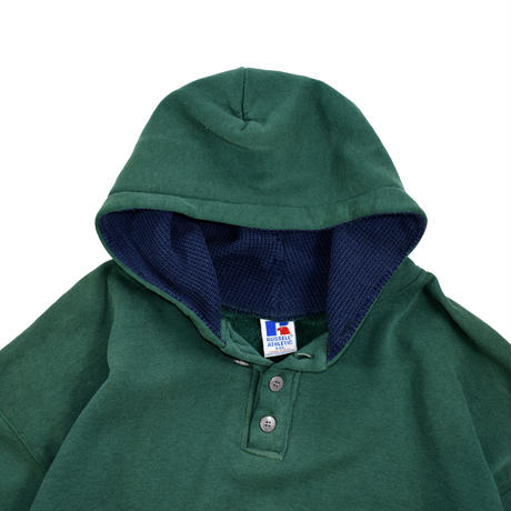 "USED ""90'S RUSSELL ATHLETIC"" HENRY NECK HOODIE"