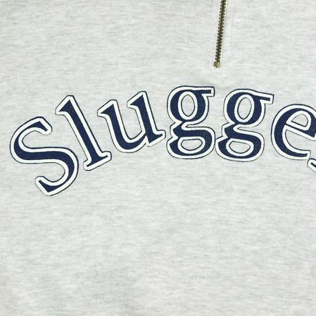 """DEAD STOCK """"SLUGGERS"""" HALF ZIP SWEAT"""