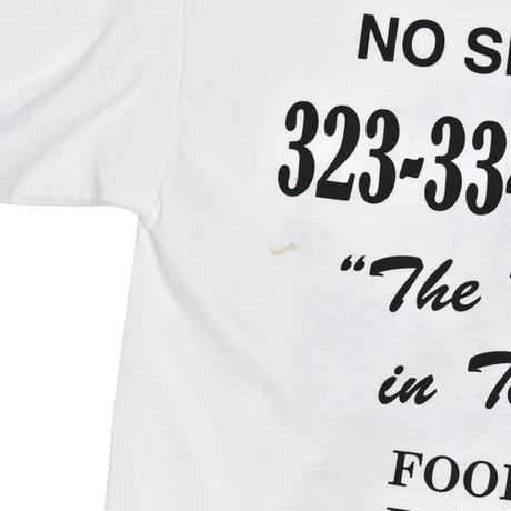 "USED ""JON&VINNY'S PIZZERIA"" T-shirt"