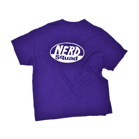 "USED ""NERD SQUAD"" T-SHIRT"
