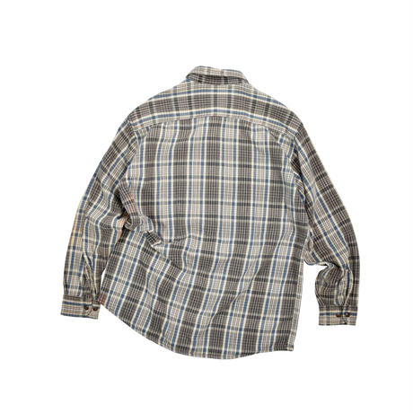 "USED ""90'S ST.JOHN'S BAY"" HEAVY FLANNEL SHIRT"