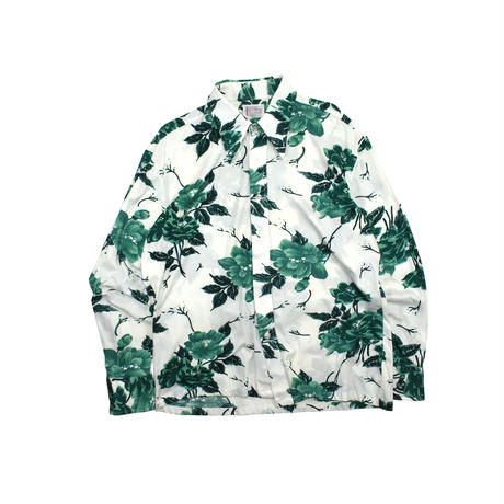 """USED 90'S """"SPIEGEL"""" FLORAL NYLON SHIRT"""