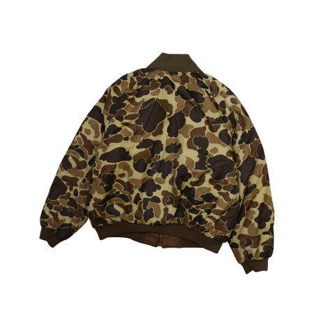 "USED ""COLUMBIA"" REVERSIBLE HUNTER CAMO DOWN JACKET"