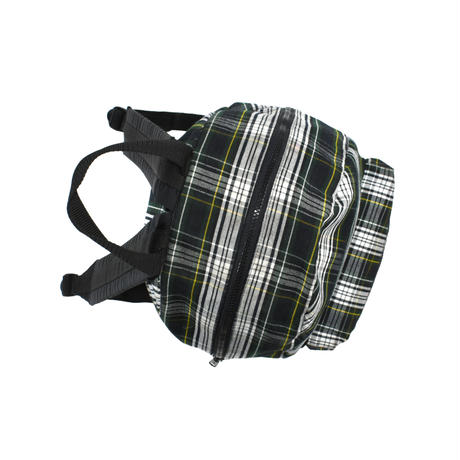 """USED """"UNKNOWN TARTAN CHECK"""" DAYPACK"""