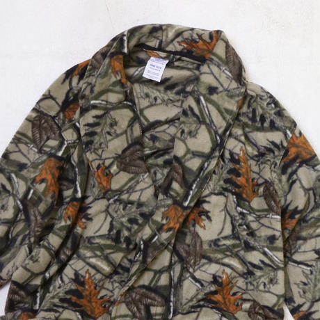 "FRUIT OF THE LOOM ""LEAF CAMO"" FLEECE GOWN"