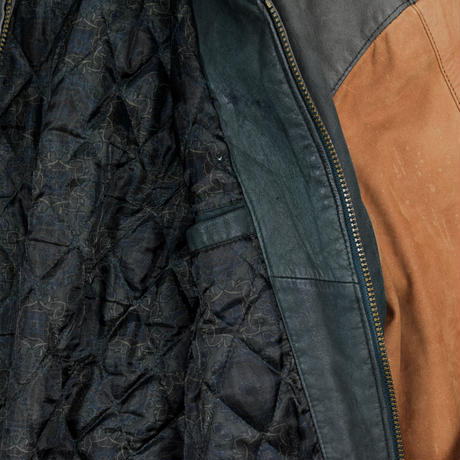 """USED """"MEMBERS ONLY"""" LEATHER JACKET"""
