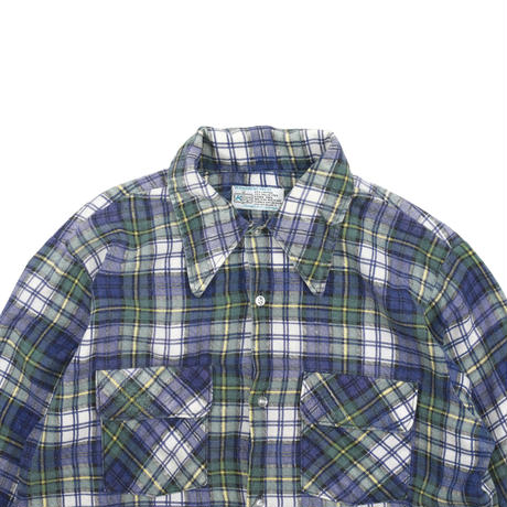 """USED 70'S """"K MART"""" CHECH SHIRT"""