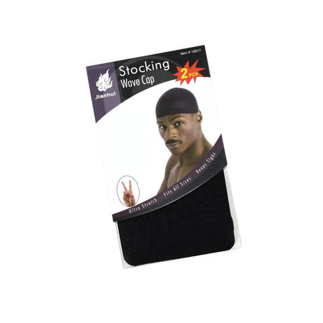 """""""JIANHUI"""" STOCKING WAVE CAP 2PCS"""