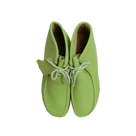 "GBX ""WALLABEE BOOTS"" LIME GREEN DEADSTOCK"