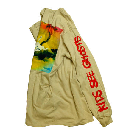 """KIDS SEE GHOSTS"" ALBUM MERCHANDISE L/S Tshirt"